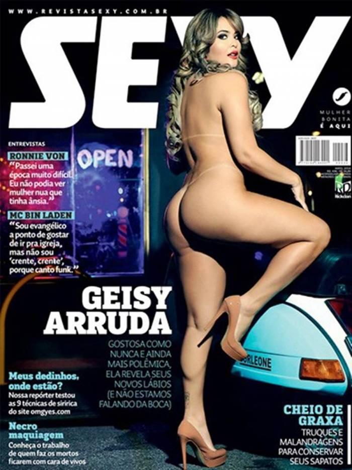 Fotos de Geisy Arruda pelada nua mostrando a buceta