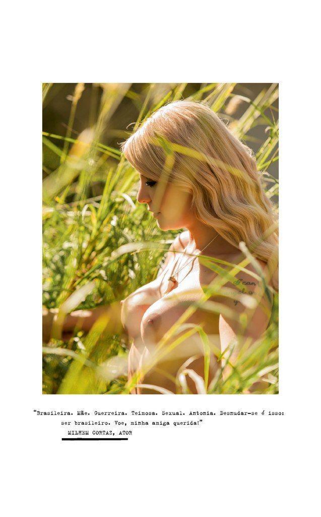 %t Antônia Fontenelle nua na revista playboy em julho de 2013