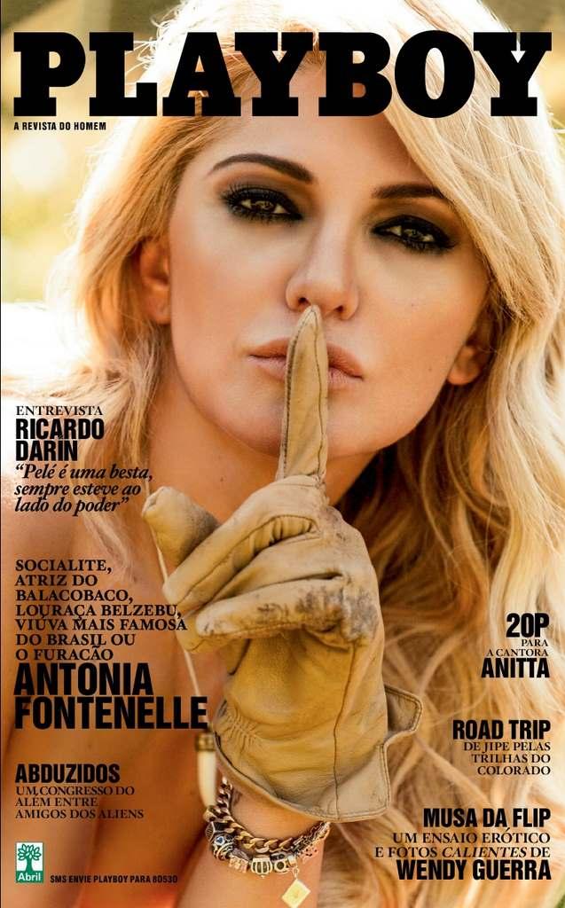 Antônia Fontenelle nua na revista playboy em julho de 2013