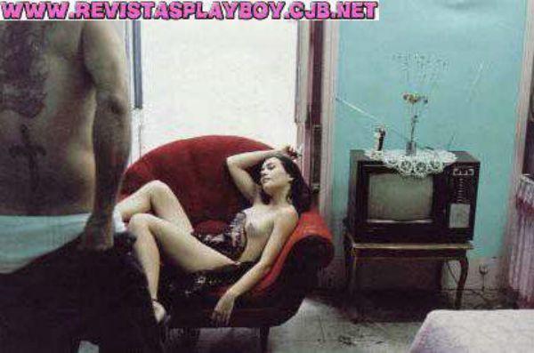 Atriz Alessandra Negrini nua na playboy   Abril de 2000