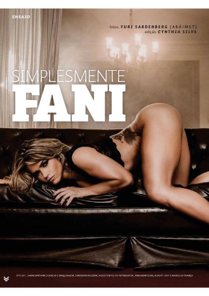 Ex BBB Fani Pacheco nua na revista sexy em maio de 2014