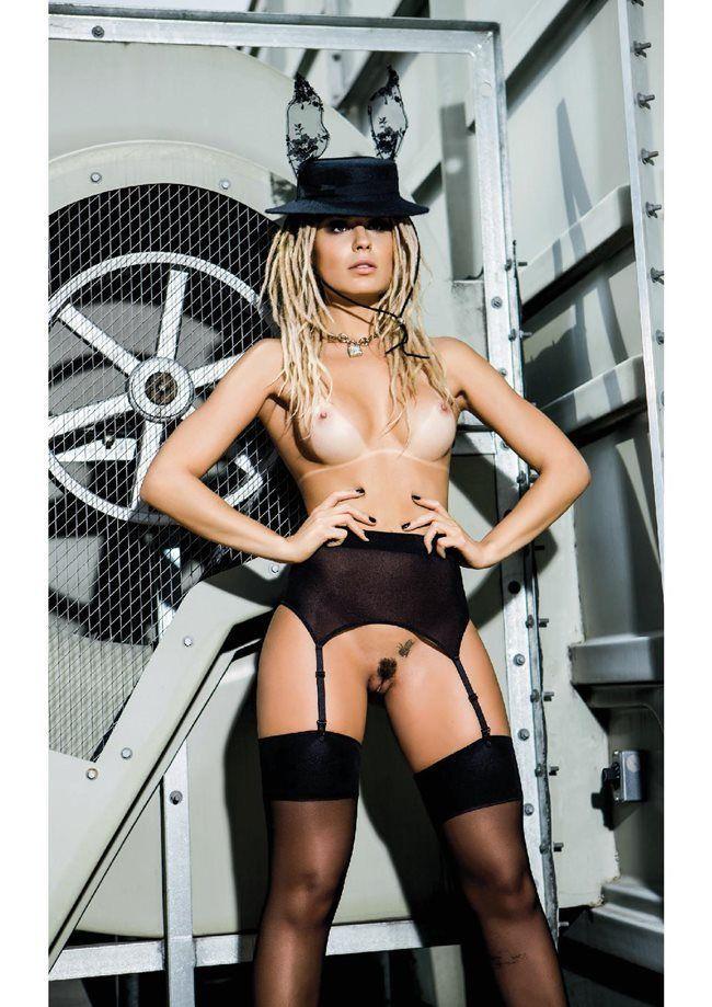 Fernanda Lacerda nua na revista Playboy em Outubro de 2014