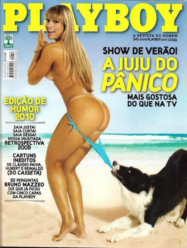 Juliana Salimeni pelada na revista playboy - Janeiro de 2010