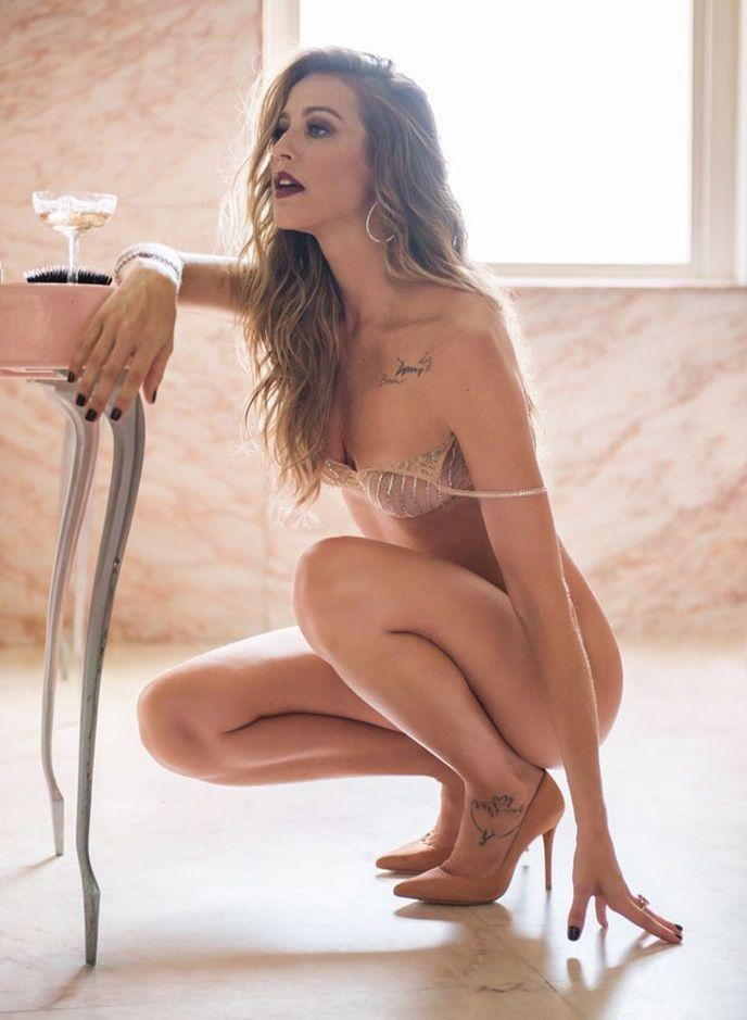 Luana Piovani nua na revista playboy em abril de 2016