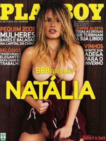 Natália Casassola pelada na revista playboy em julho de 2008